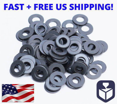 Carbon Steel Washers (M2 or M2.5 Grade 8.8 Carbon Steel Black Flat Washer Plain Washers DIN125 )