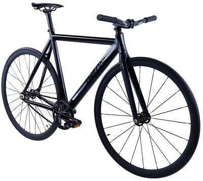 Throne Phantom Fixed Gear Single Speed Bicycle Bike 2019 Black 50 53 55 59 CM
