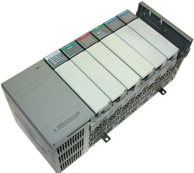 Loaded Allen Bradley 7 Slot Slc 500 Plc 502 System