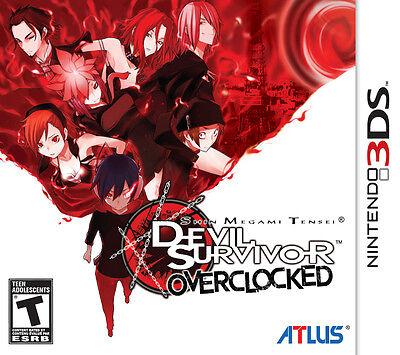 Shin Megami Tensei: Devil Survivor Overclocked [Nintendo 3DS, Atlus JRPG Remake] comprar usado  Enviando para Brazil