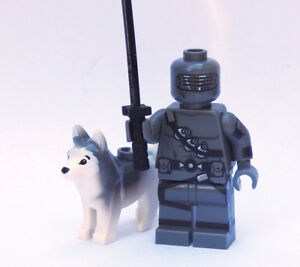 Custom - Cartoon Snake Eyes - Gi Joe Cobra minifigures lego bricks gijoe g i joe
