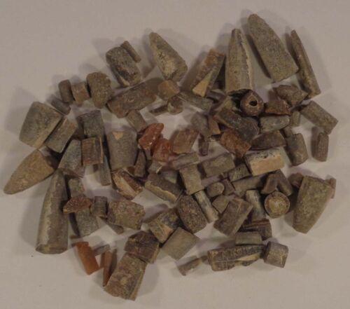 Parcel Fossil Belemnite Specimens - 7.47 oz. - 212 Grams