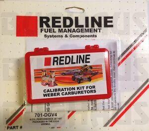 Redline Jet Kit fits 32/36 Weber Carburetor DGV DGEV DGAV 4cyl - FREE SHIP!!
