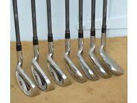 Powerbilt Dynasty Utility 5-SW Golf Club set RH.