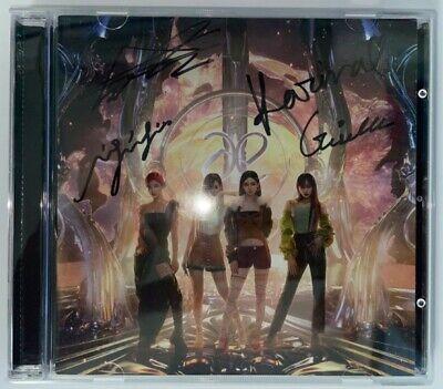 aespa [Next Level] Autographed Signed Promo Digital Single Album UNIQUE