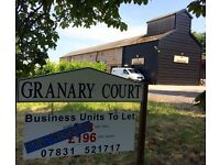 500 sqft - WORKSPACE / WORKSHOP / OFFICE units - Hampshire/Surrey border - 8 mins from M3, j5