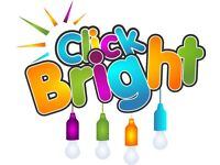 Must Have Ideas - Click Bright - Instant Colourful Light