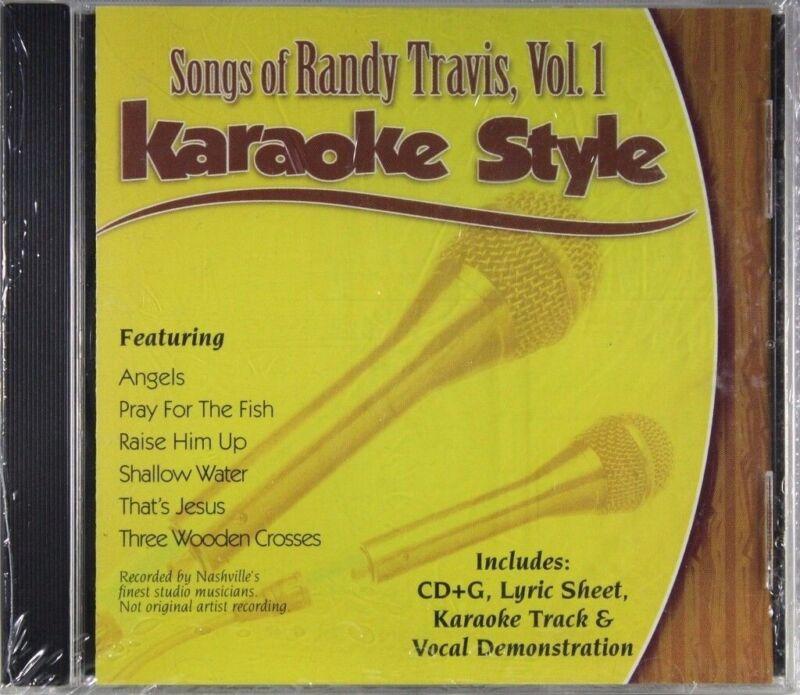 Songs of Randy Travis Volume 1 Christian Karaoke Style NEW CD+G Daywind 6 Songs