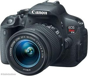 NEW EOS Rebel T5i with EF-S 18-55mm IS STM Kit