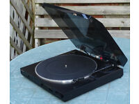 PIONEER PL-X340 BELT DRIVE TURNTABLE WITH HIGH QUALITY SHURE CARTRIDGE