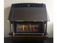 Robinson Willey Firecharm 3.52 kw Outset Gas Fire ( Bronze )