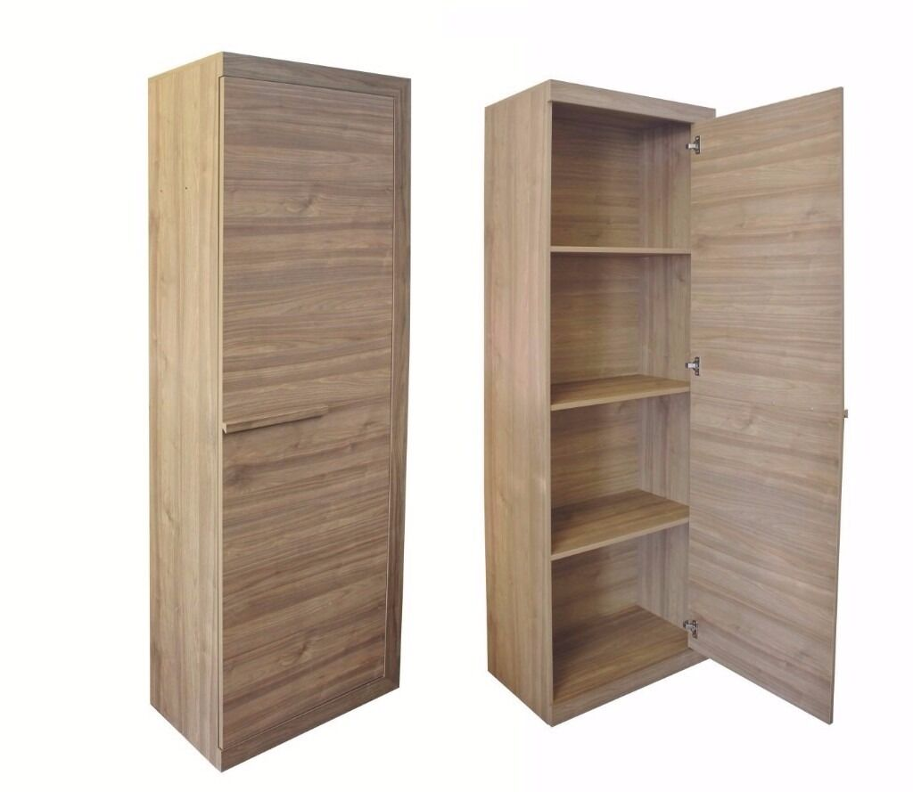 1 Door Wardrobe Storage Shelf Wardrobe Dresser Narrow