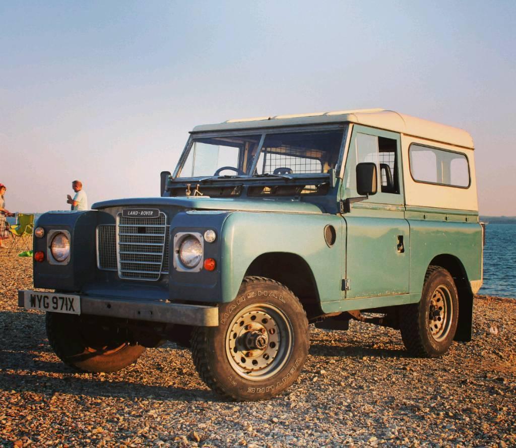 Land Rover 88 Swb Station Wagon Series 3 Iii 1982 Marine Blue In