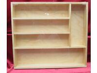 Pine Wooden Kitchen/Cabinet Storage Cutlery Drawer Tray