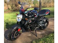 MV AGUSTA Brutale 920 Black 2016 956 Miles only Fantastic condition