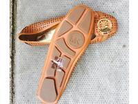 Women's Michael Kors flat leather shoes