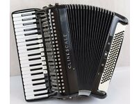 Borsini Clinkscale SL493 Accordon - 120 Bass - 4 Voice Musette