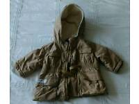 Beautiful and warm Baby Gap Coat 6-12 months - Excellent Condition