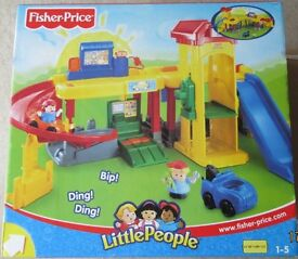 Little People toy sets, boxed, never used