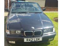 1997 BMW 318i Convertible 1.8L Petrol
