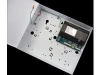 Complete Fire Alarm System, PSU, Smoke Detectors, Cables, Clips, Bracket 4 Zone Fire Panel, Battery