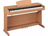 YAMAHA ARIUS YDP-161 Digital Piano in oak, weighted keys 3 pedals, clavinova keyboard