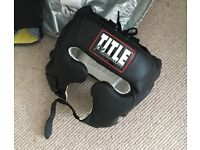 Title Boxing Platinum Training Headgear