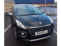 Peugeot 3008 Crossover 1.6e- HDi 115bhp FAP EGC 2014 Active Automatic Diesel