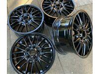 Genuine BMW MV1 alloy wheels - Fully Refurbished - 5x120 - Piano Black