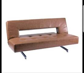 Dwell PISA TAN Sofabed hardly used