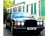 Bentley Turbo R for Wedding Hire