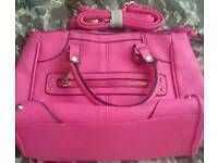 Black and pink bag for sale!