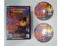 The Curse of Monkey Island, PC game, 2 CDs, Lucas Arts, 1997
