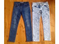 Girls Next jeans and jeggins size 8 years