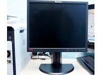 """Lenovo think vision monitor 19"""""""