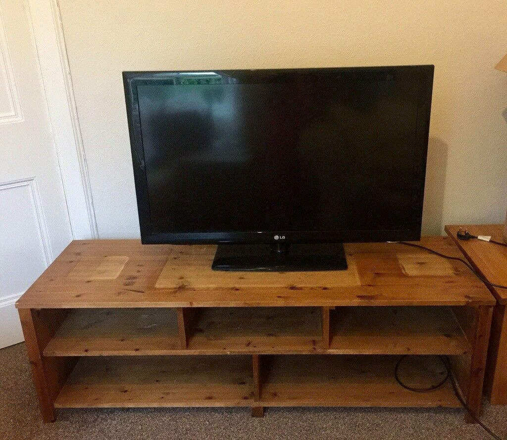 Wooden tv & entertainment unit
