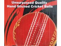 BRAND NEW TOP QUALITY 6 HAND STITCHED CRICKET BALLS