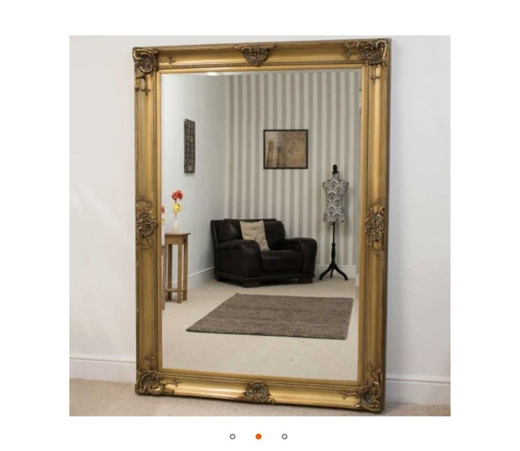 7 Foot By 5 Beautiful Standing Mirror Brand New Sealed Packaging