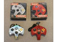 Lot of 2 controllers for Nintendo N64 console