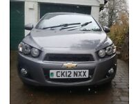 FOR SALE! £2995 2012 CHEVROLET AVEO LTZ VCDI 1.3 CC MOT TILL MAY TAX TILL MID APRIL. 44 000mi