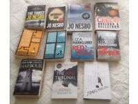 Job Lot 11 Scandi Novels - mostly Nordic Noir