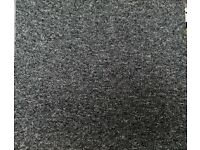 Brand new grey carpet tiles