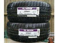 Two x New 215/50/17 tyres