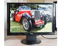 22 inch Flat Screen monitor in good condition with stand and original packing
