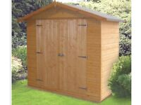 Shire Giant Store Shed 6ft 6in x 3ft 6in new, never been assembled (photo is from internet) 12mm T&G