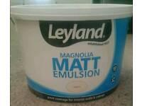 NEW Leyland Magnolia Matt Paint