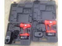 2 Black & Decker EPC18CA Drills