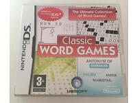 """Nintendo DS """"Classic Word Games"""""""