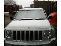 Jeep Patriot CRD limited addition 4x4 Desiel silver