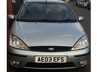 2003 Ford Focus Zetec 1.6 Petrol MOT (spare & repair)